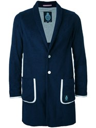Guild Prime Long Blazer Blue