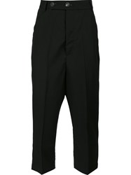 Thamanyah Cropped Trousers Black