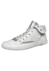 Pataugas Bandit Hightop Trainers Argent Silver
