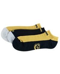 '47 Brand St. Louis Rams 3 Pack No Show Socks Gold