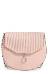 Louise Et Cie Jael Leather Crossbody Bag Pink Rose Blush