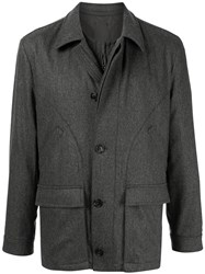 Gieves And Hawkes Padded Zipped Jacket 60