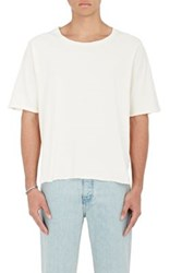 Iro Men's Andris Cotton Boxy T Shirt White