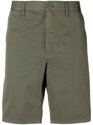 Norse Projects Fitted Chino Shorts Green