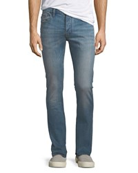 John Varvatos Wight Fit Button Fly Jeans Blue