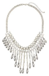 Junior Women's Stephan And Co. Teardrop Statement Necklace