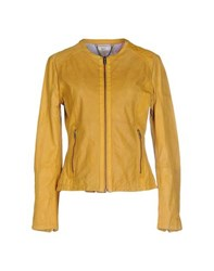 Bomboogie Coats And Jackets Jackets Women Ochre