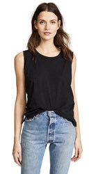 Madewell New Whisper Muscle Tank True Black