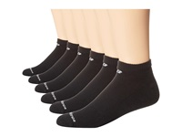New Balance Cotton Low Cut 6 Pack Black Low Cut Socks Shoes