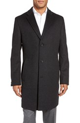 Boss Men's The Stratus Wool And Cashmere Overcoat