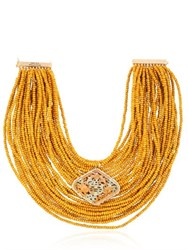Rosantica Vesuvio Beaded Multi Strand Necklace