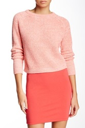 American Apparel Cropped Fisherman Pullover Pink