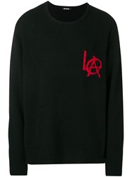 Adaptation La Crew Neck Sweater Black
