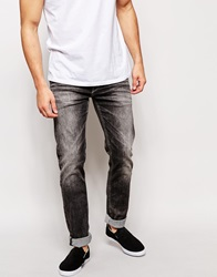 Pepe Jeans Hatch Slim Tapered Fit Soot Black Acid Wash Sootblack