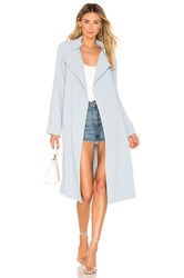 Kendall Kylie Classic Trench Coat Baby Blue