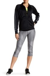 Brooks Greenlight Capri Legging Gray