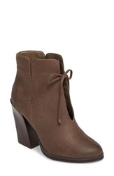 Sbicca Women's Chick Flick Bootie Taupe Faux Leather