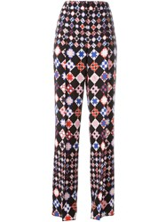 Emilio Pucci Geometric Print Trousers Multicolour