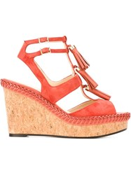 Jimmy Choo 'Drew 100' Sandals Yellow And Orange