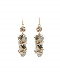 Emily And Ashley Simulated Crystal Chandelier Earrings Ivory