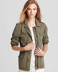 Velvet By Graham And Spencer Jacket Army Forest