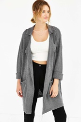 Unif Sweater Trench Cardigan Grey