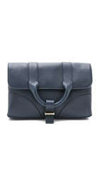 Jason Wu Hanne Clutch Navy