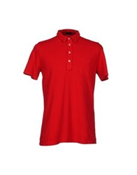 Piombo Polo Shirts Red