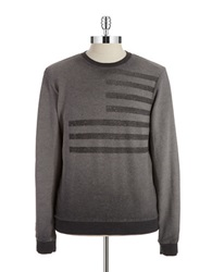 William Rast French Terry Pullover Charcoal