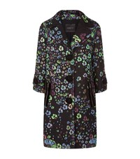 Andrew Gn Metallic Brocade Single Breasted Coat Female Multi