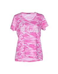 Odi Et Amo Topwear T Shirts Women Light Purple