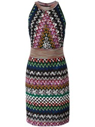 Missoni Zigzag Knitted Dress
