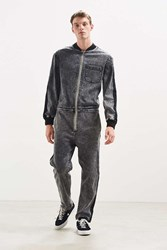 Bdg Side Stripe Denim Coverall Washed Black