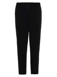 Elizabeth And James Shelton Crepe Cropped Trousers