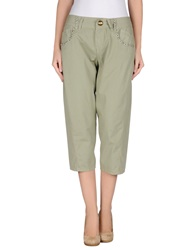 Pianurastudio 3 4 Length Shorts Green