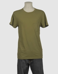 Ermanno Scervino Beachwear Short Sleeve T Shirts Military Green