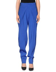 Antonio Berardi Trousers Casual Trousers Women Bright Blue