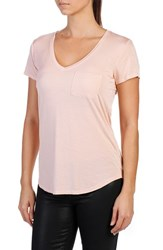 Paige Women's Lynnea V Neck Pocket Tee