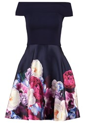 Ted Baker Nersi Cocktail Dress Party Dress Navy Dark Blue