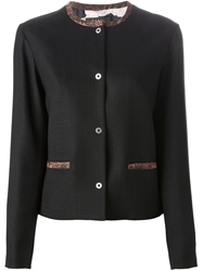 Paul Smith Black Label Contrast Trim Blazer