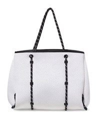 Steve Madden Lana Perforated Tote Black