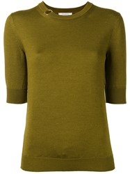 Nina Ricci Plain Jumper Green