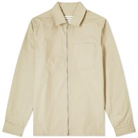 A Kind Of Guise Delon Zip Overshirt Neutrals