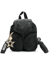 See By Chloe Star Charm Mini Backpack Women Cotton Polyester Pvc One Size Black