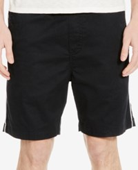 Kenneth Cole New York Men's Galloway Drawstring Shorts Black