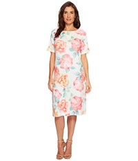 Nally And Millie Big Floral Print Dress Multi