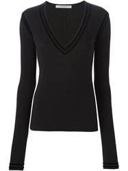 Givenchy Fitted Sweater Black