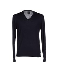 B.K. Collection Knitwear Jumpers Men Dark Blue