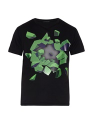 Christopher Kane Graphic Printed Jersey T Shirt