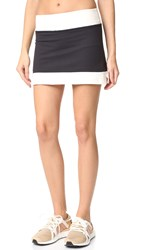 Beyond Yoga Kate Spade New York Blocked Frame Skirt Black